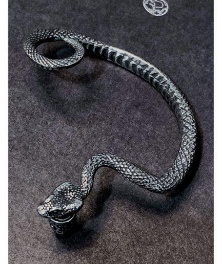 金蛇蠶絲環